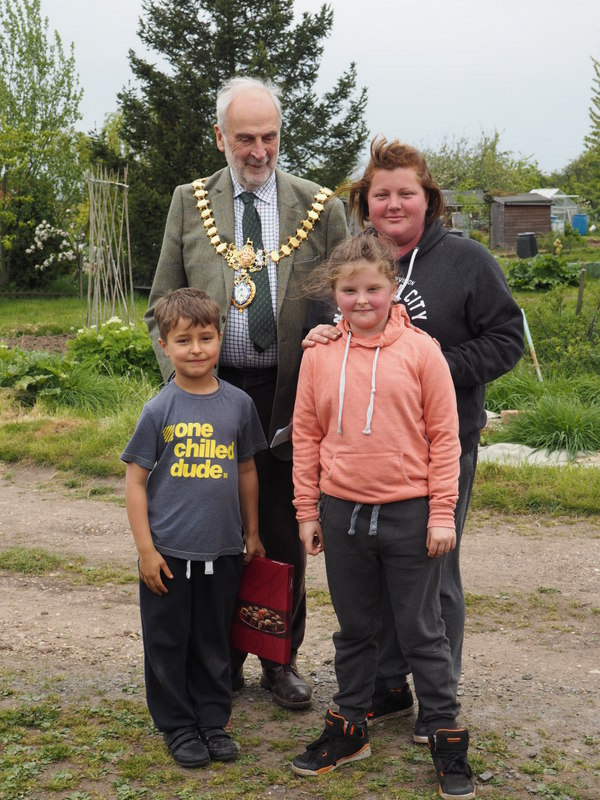 Clare and Mayor